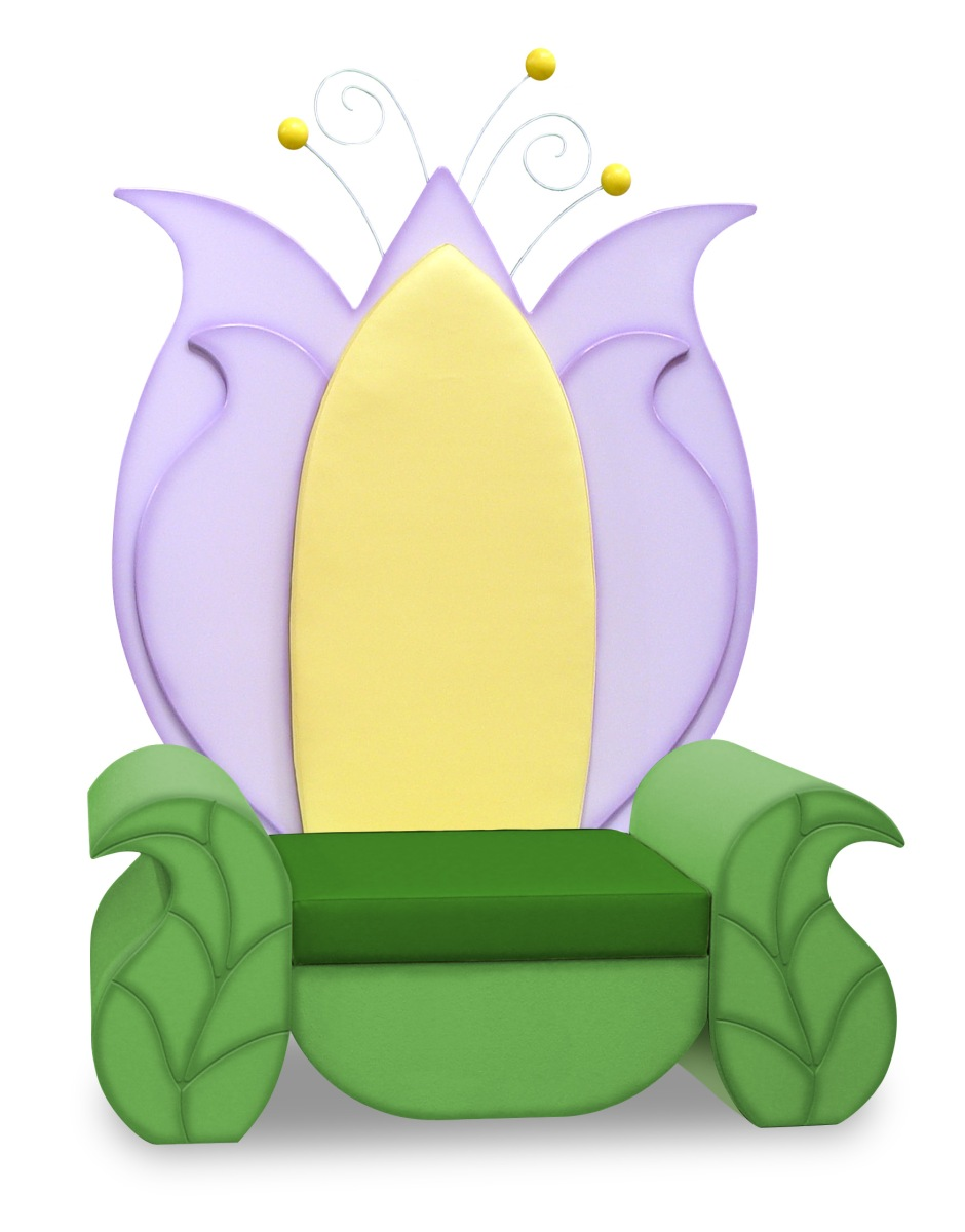 Double Wide Tulip Throne