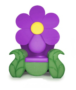 SPR-4001PR Purple Daisy Throne (1)